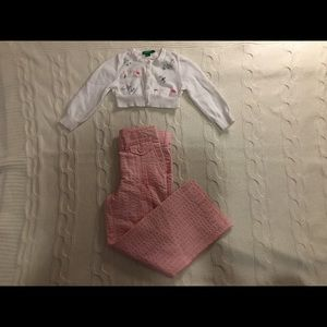 United colors of Benetton 2-3t girl clothes bundle